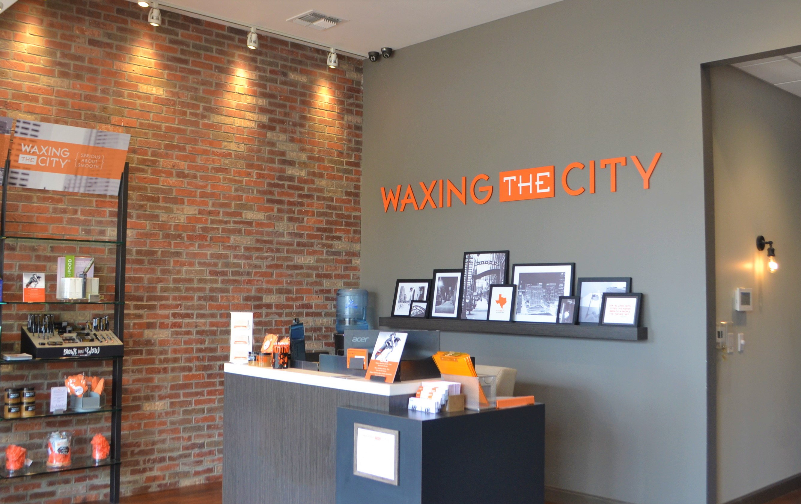 Waxing the City Foyer
