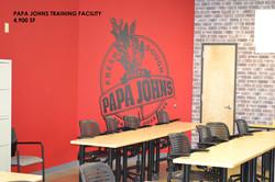 Papa Johns Training Facility