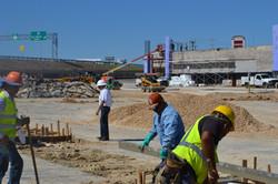 Forum Crossing under construction