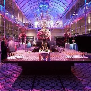 Event venu lighting for a Signature Event