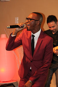 Soloist singing at a Signature Events FL event