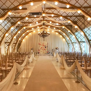 Venue decor for a wedding done by Signature Events FL