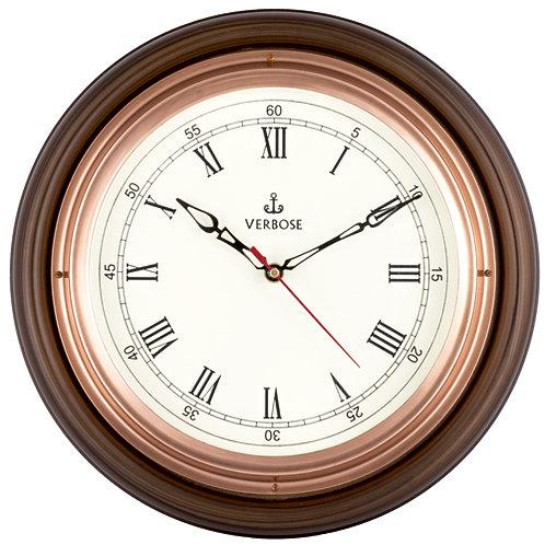 """Antique Clock Copper 12"""""""