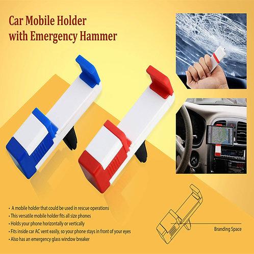 Car Vent Mobile Holder with Hammer