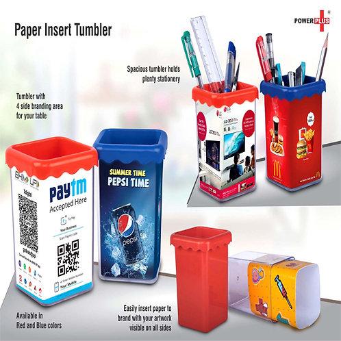 Paper Insert Tumbler