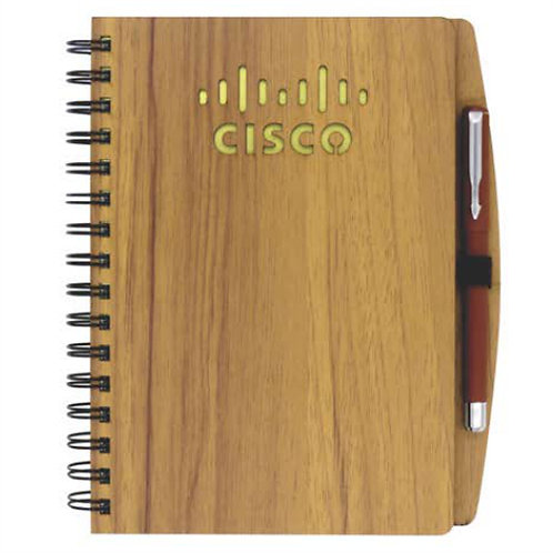 A5 Wooden Notebook