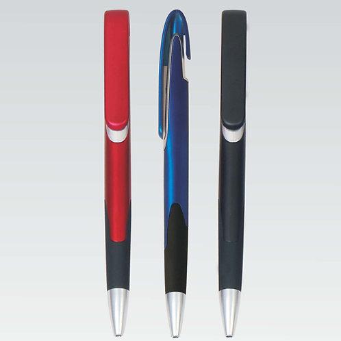 Metal Look Grip Pen