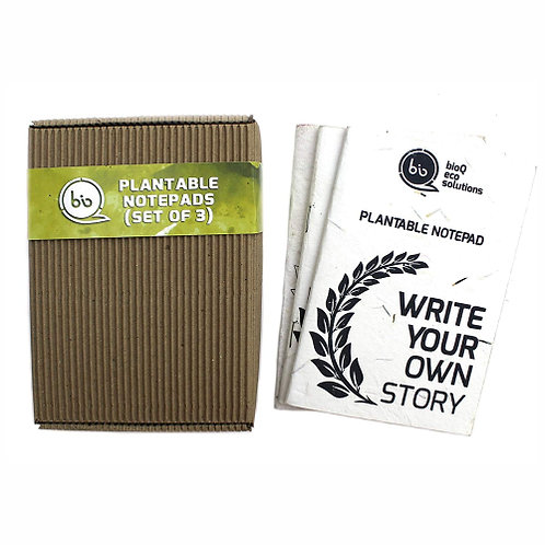 Plantable Notepad Set of 3