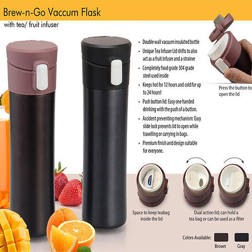 Vaccum Flask with Fruit Infuser