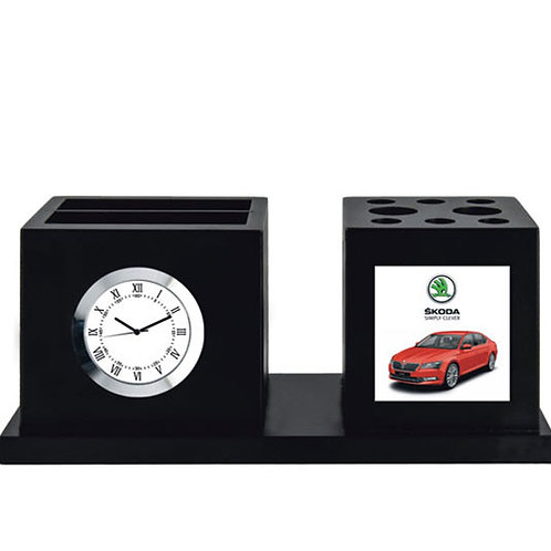 Table Clock with Tumbler