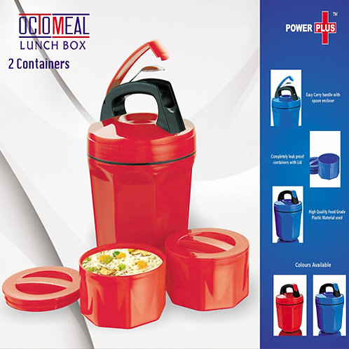 Octomeal Lunch Box -2 Containers (Plastic)