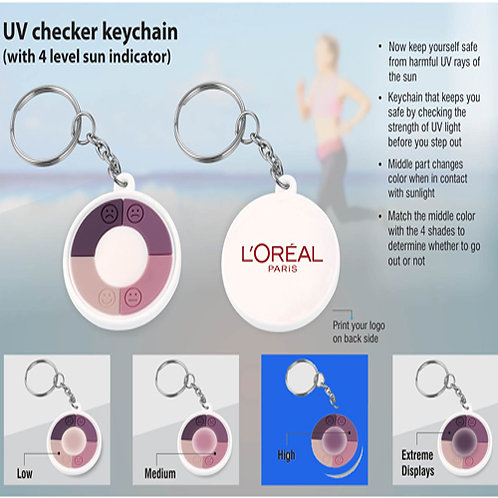 UV Checker Keychain