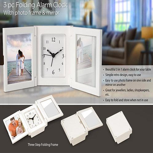 3 pc Folding Alarm Clock