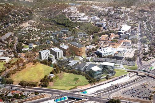 Aerial of Flinders