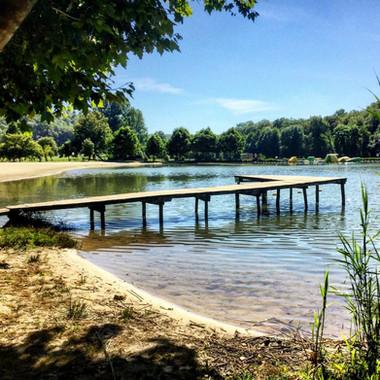 L'étang de Tamniès.