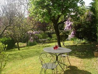 De tuin van La Colline.