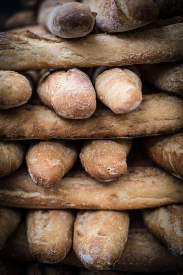 The baguettes
