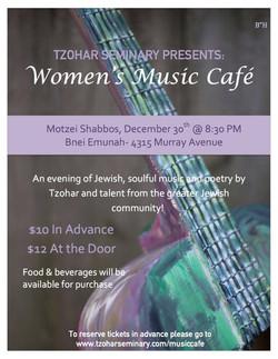 Women's Music Cafe