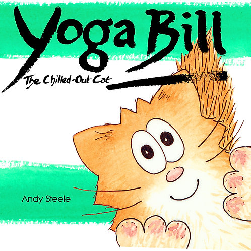 Yoga Bill: The Chilled-Out Cat
