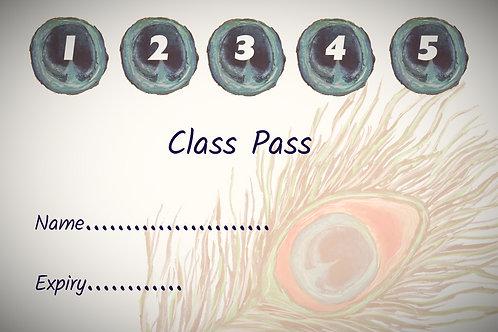 Adult Yoga 5 Class Pass