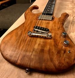 Cherry Custom Guitar