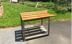 Oak Grill Table
