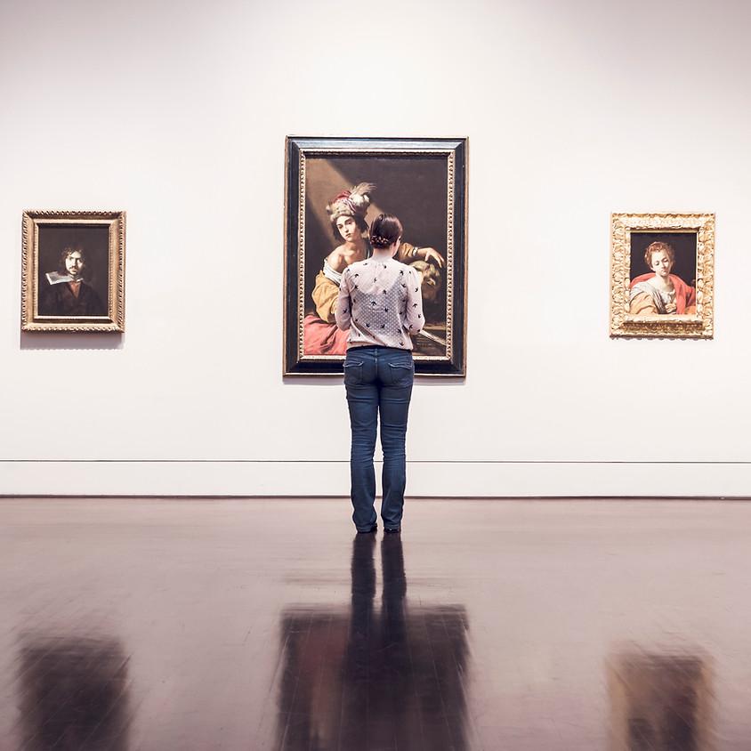 Utställning tavlor - Solveig Westerholm.  Från 19. till 23. februari 2018
