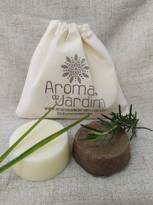 Xampu sólido 30 gramas