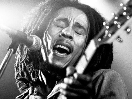 Top 10 músicas de Bob Marley mais tocadas nos últimos 5 anos