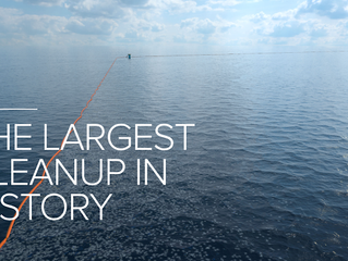 The Ocean CleanUp, Un brillante proyecto!