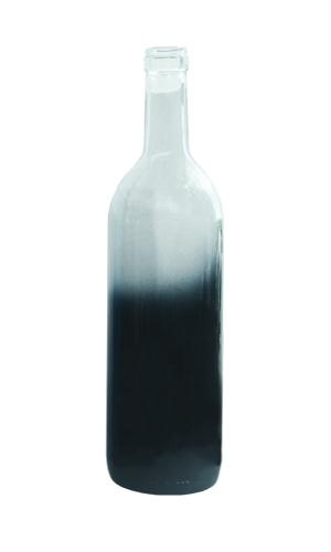 Black Wine Bottle Gradation