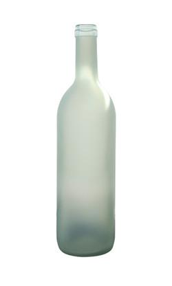 Flint Wine Bottle Frosted
