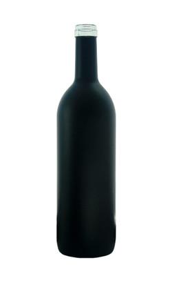 Black Matte Wine Bottle Coating