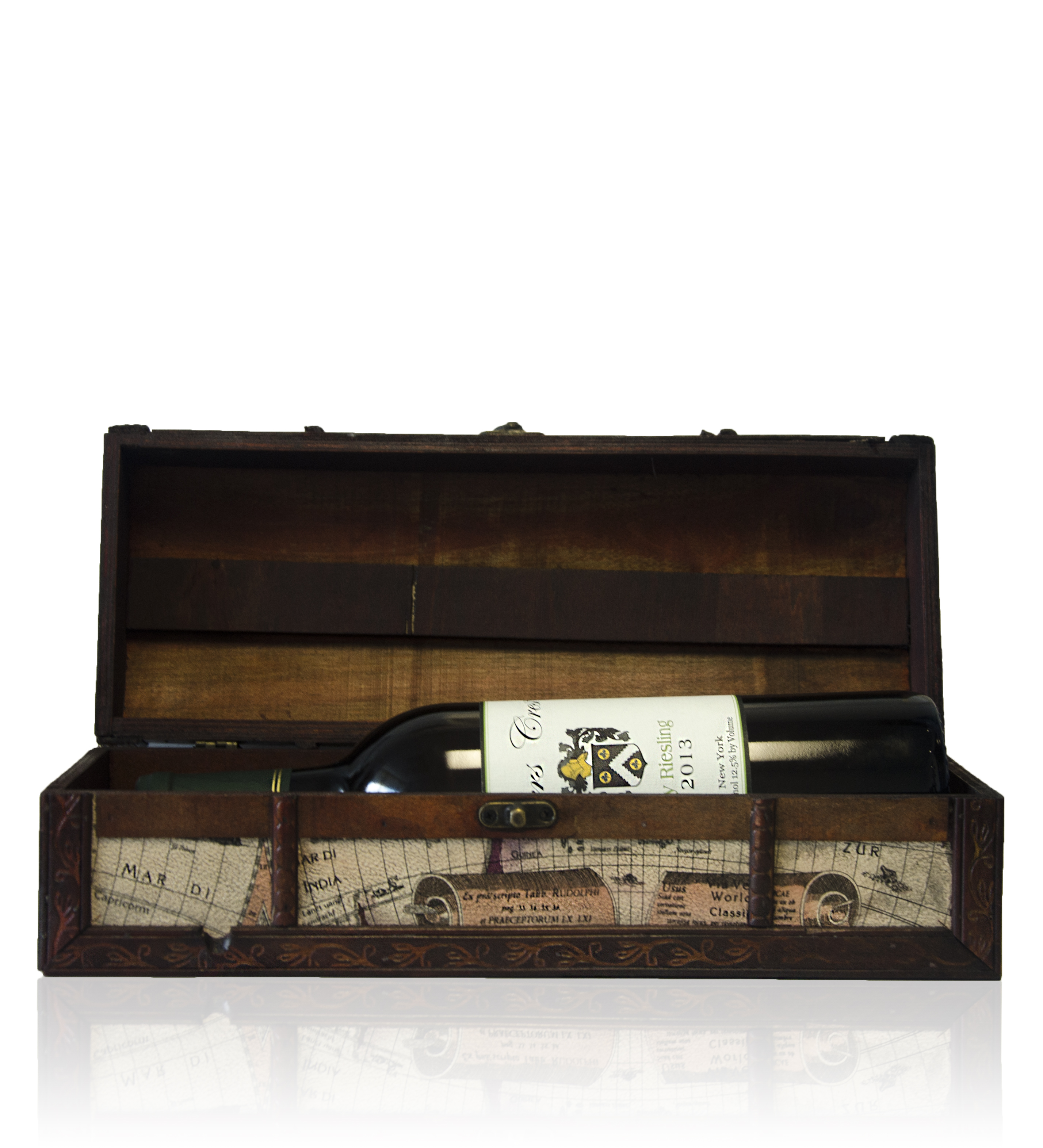 Wine Case With Bottle (1/2)