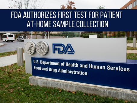 FDA Announces First At-Home Coronavirus Test Approved