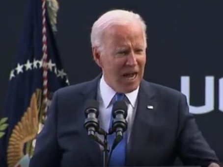 This is the Angriest You've Ever Seen Joe Biden as President: Watch Him Rail About Absolute Nonsense