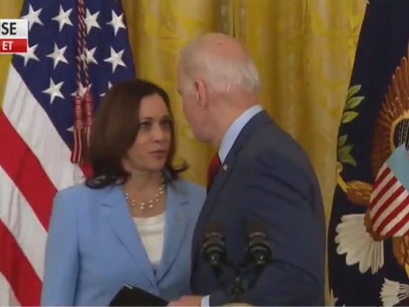 Biden Was Just About to Leave, But Kamala Stopped Him Cold to Remind Him About a Tragic Accident