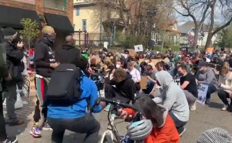 BLM Protesters Rally for Man Killed by Police, Then They Find Out He's White
