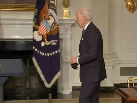 Watch: Biden Walks Away When Asked about the Sacrifices He's Forcing on Americans