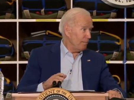 """Biden Caught Telling Another Whopper, Company Says His Claim about """"First Job Offer"""" Is Not True"""