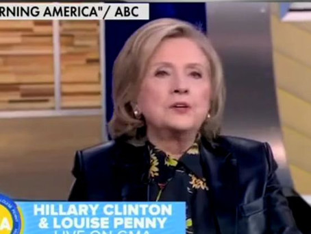 Hillary Clinton Warns America She 'Will Never Be Out of the Game of Politics'