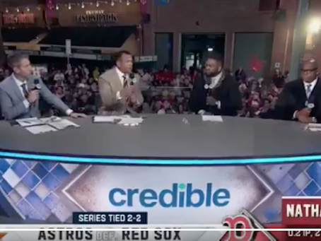 """WATCH: """"F*** Joe Biden"""" Chants Drown Out MLB Postgame Show in Liberal City"""