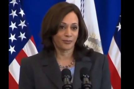 Kamala Harris Tells Americans to Get the Vax Because the Bible Says So