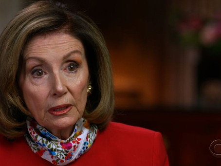 CBS Reporter Forces Nancy Pelosi to Eat Crow After Blaming Republicans for Stalling Relief Bill