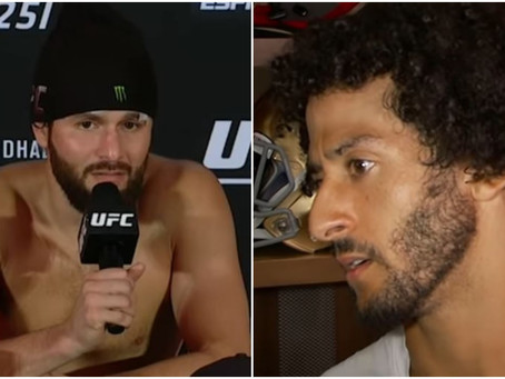 Cuban-American UFC Star Digs Up Pic of Kaepernick, Says 'Cowards Like This' Should Be Sent to Cuba