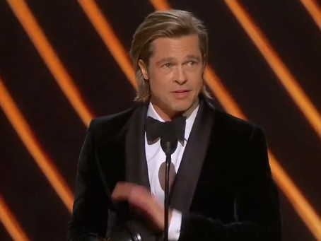 Brad Pitt Slams Republicans Right After Winning Oscar