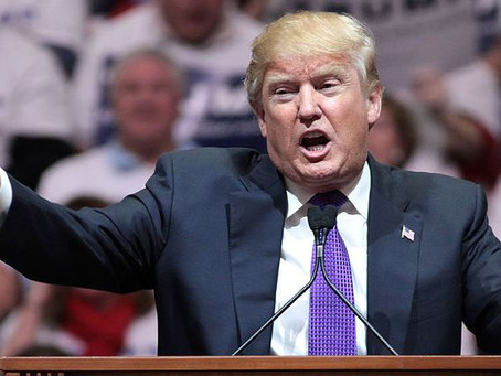 Trump Tells Democrats Where to Put Their Demands He Testify