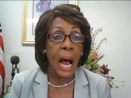 Maxine Waters Loses It, Says Trump Wants Black People to 'Live Under The Domination Of White Power'