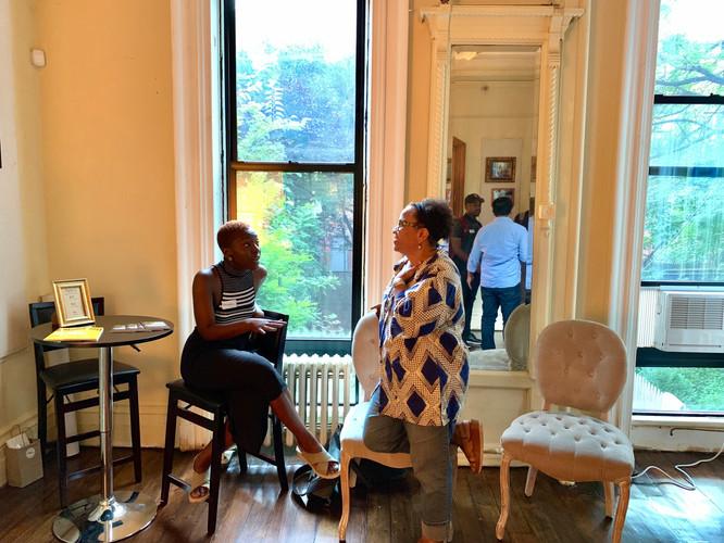 BlackSpace Happy Hour at Langston Hughes
