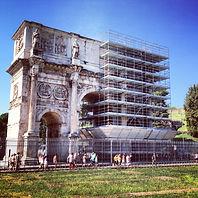 Arco di Costantino ponteggio; ponteggio; ponteggi roma; ponteggi colosseo; ponteggio roma; ponteggio colosseo; ponteggio